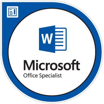 Microsoft Word Specialist